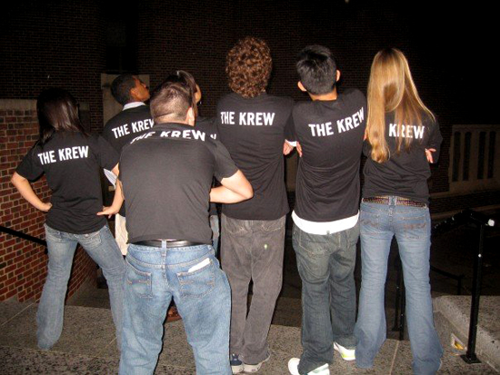 The Krew Looking Dope