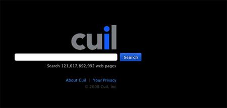 Cuil Homepage