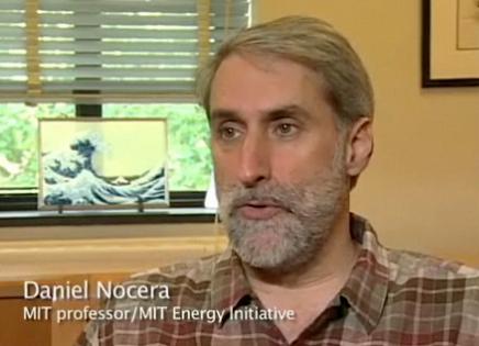 MIT professor Daniel Nocera